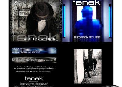 Tenek Imitation Of Life [Double EP Album Art]