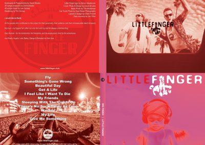 Little Finger 'BIG FINISH' [Digipak Album Design]