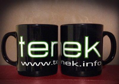 Tenek Green Text Mug [Merchandise]