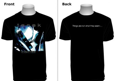 Tenek T-shirt Design [Smoke and Mirrors]